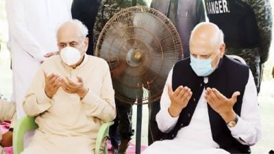 گورنر' صوبائی وزراء کی ننکانہ آمد' وزیر داخلہ سے بھائی کے انتقال پر تعزیت