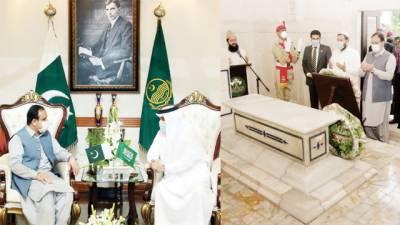 پاکستانیوں کی سعودی عرب سے دلی وابستگی، عثمان بزدار: عوام مضبوط رشتوں میں بندھے ہیں، نواف المالکی
