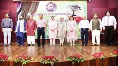 یونیک گروپ کے زیر اہتمام شجرکاری کے حوالے سے تقریب
