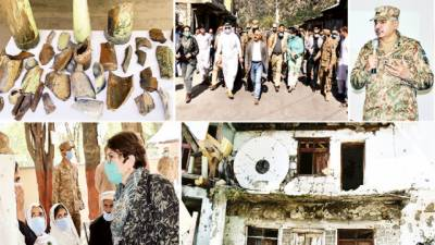 کنٹرول لائن : غیر ملکی سفارتکاروں کا دورہ، بھارتی جارحیت پر بریفنگ