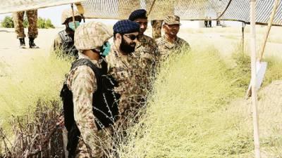 کور کمانڈر کراچی لیفٹیننٹ جنرل ہمایوں عزیز کا دورہ رحیم یار خان، فوجی مشقوں کا معائنہ
