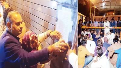 ہندو برادری کے ہزاروں افراد بھارتی ہائی کمشن کے سامنے دھرنا ، مذمتی قرارداد پیش