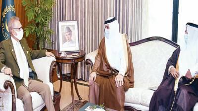 پاکستان سعودی عرب کیساتھ برادرانہ تعلقات کو بہت اہمیت دیتا ہے،صدر علوی