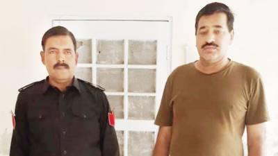 گوجرانوالہ: اینٹی کرپشن کی کارروائی'سب انسپکٹر رنگے ہاتھوں گرفتار