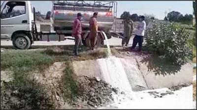 پنجاب فوڈ اتھارٹی کی کارروائیاں'5ہزار 400لٹر مضرصحت دودھ تلف