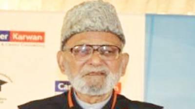 تحریک پاکستان کے کارکن اور اردو ڈائجسٹ کے بانی ڈاکٹر اعجاز حسین انتقال کر گئے