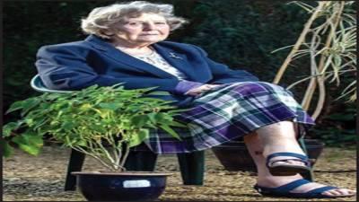 91 سالہ خاتون دو دن تک مٹی کھاکر زندہ رہیں