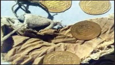 عباسی دور خلافت کے دینار و نایاب سکے دریافت