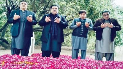 دانیال عزیز کے والد کی وفات پر انجینئر خرم دستگیر خان کی تعزیت
