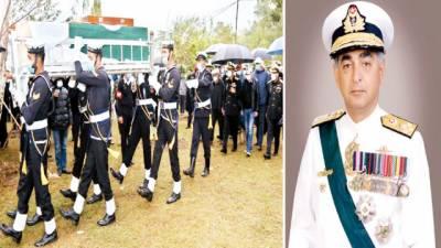 ایڈمرل فصیح بخاری اسلام آباد میں سپرد خاک، نماز جنازہ میں حاضر سروس ، ریٹائرڈ افسروں کی شرکت