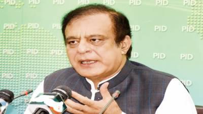 فضل الرحمن ڈنڈے اٹھانے کیلئے اکسا رہے، کاروائی کی تو چھپنے کی جگہ نہیں ملے گی : شبلی فراز