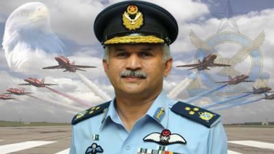 بھارت پاکستان کو غیر مستحکم کرنے کیلئے افغانستان میں پراکسی وار کی معاونت جاری رکھے ہوئے ہے: ائر چیف