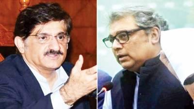 وزیراعلیٰ سندھ اور علی زیدی کی اجلاس میں تلخ کلامی، ایک دوسرے کیخلاف وزیراعظم کو خط لکھ دیئے