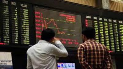 سٹاک مارکیٹ میں 337 پوائنٹس کامندا، 50 ارب روپے سے زائد کانقصان