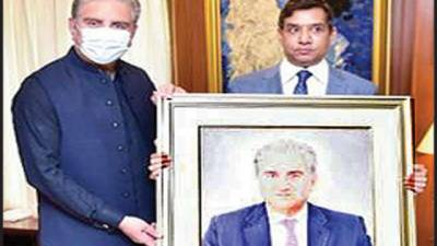 پاکستانی آرٹسٹوں کو کام منظر عام پر لانے کیلئے مشکلات کا سامنا ہے، شاہ محمود