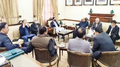 سینٹ الیکشن : پنجاب اسمبلی سپیکر چیمبر میں اجلاس' ضروری فیصلے کئے گئے