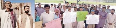 کم اجرتیں' سہولتیں ناپید ہونے پر بھٹہ مزدوروں کا احتجاجی مظاہرہ