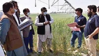 زرعی معیشت کے استحکام کیلئے جدید ٹیکنالوجی کا استعمال ناگزیر ہے:ثاقب علی عطیل