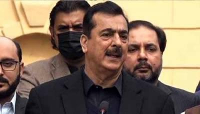 (ن) لیگ خود استعفے دینا نہیں چاہتی' ملبہ صرف پی پی پر گرانا چاہتی ہے: گیلانی