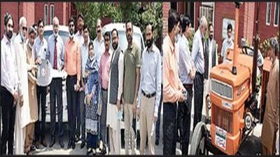 ریسرچ کیلئے سازو سامان کی فراہمی قومی ذمہ داری ہے: وی سی جامعہ زکریا