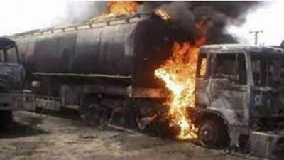 فیروزوالا:آتشزدگی کے 4واقعات 'آئل ٹینکر میں آگ بھڑک اُٹھی