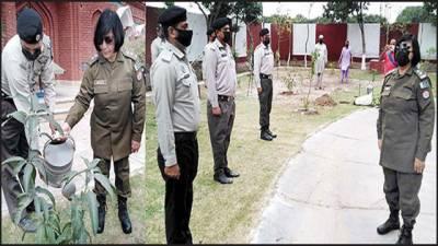 ایس پی پنجاب ہائی وے پٹرول کی سکندآباد اور شیرشاہ پوسٹ کی انسپکشن