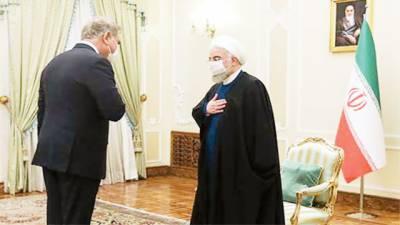 شاہ محمود کی ایرانی قیادت سے ملاقاتیں: بھائی سے زبردست بات چیت ہوئی، نئی کراسنگ، منڈیاں کھولیں گے، جواد ظریف