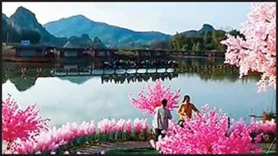 نوجوان نے محبت پانے کیلئے اجڑی ہوئی جھیل کو جنت نظیر بنادیا