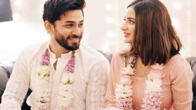 ایکٹریس صبور علی کی  اداکار علی انصاری سے منگنی