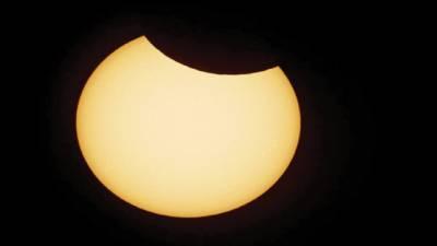 دنیا بھر میں سال کا پہلا سورج گرہن پاکستان میں نہیں دیکھا گیا