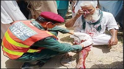 مختلف حادثات میں 6افراد زخمی ،طبی امداد کیلئے ہسپتال منتقل