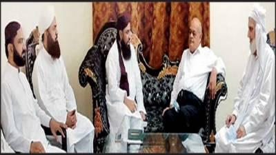 نظام مصطفی پارٹی اور سنی تحریک کے رہنماؤں کی ملاقات