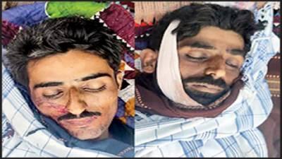 کاروکاری الزام، لٹھانی برادری میں فائرنگ، 2 بھائی جاں بحق ، 2 افراد زخمی