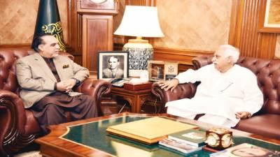 سندھ کے لوگ پی پی حکومت سے مایوس' بڑی تبدیلی متوقع:گورنر