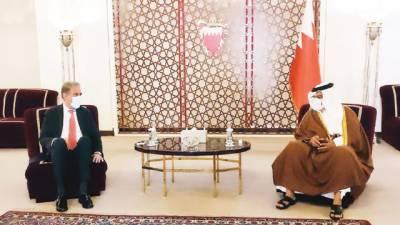 شاہ محمود کی بحرینی حکام سے ملاقاتیں، دفاعی تعاون بڑھانے پر تبادلہ خیال