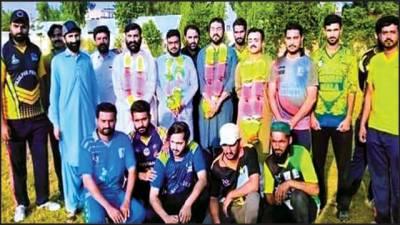 سعید میموریل کلب نے نا صر جم خانہ کو 5 رنز سے شکست دیدی