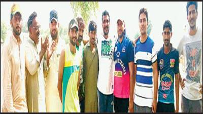 دوستانہ میچ :نڑہال الیون نے ٹانگرہ کلب کو 210 رنز سے ہرا دیا