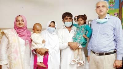 آنکھوں کی پتلیوں کے سرطان میں مبتلا 2 بہنوں کا جنرل ہسپتال میں کامیاب آپریشن