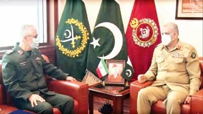 پاکستان، ایران کا افغان امن انسداد، دہشتگردی کیلئے ملکر کام کرنے، دفاعی تعاون بڑھانے پر اتفاق